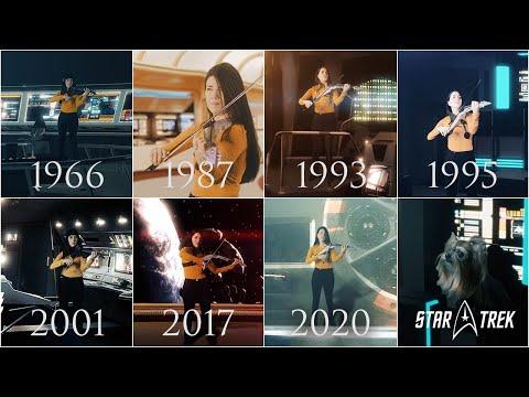Evolution of Star Trek Series Music Theme (1966-2020)