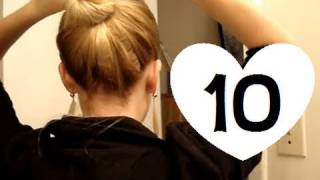 10 Easy, Quick Everyday Hairstyles for long hair & hairstyles for medium hair