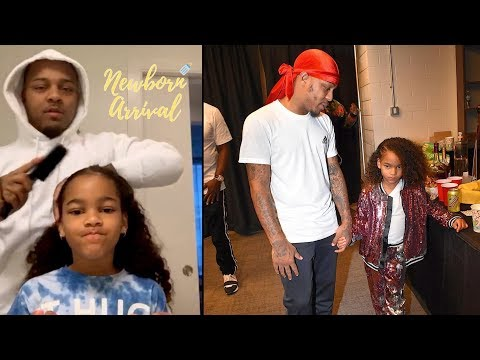 Bow Wow Does Daughter Shai's Hair Before School During Daddy Duties!