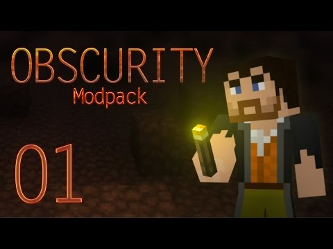 Into Darkness (Minecraft Obscurity Modpack | Episode 1) [FTB Mod pack]