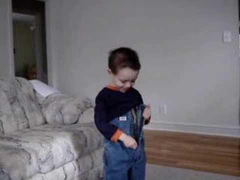 The Boy Has a Wardrobe Malfunction
