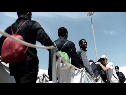 Νέα αρχή για τους μετανάστες του Aquarius στη Βαλένθια
