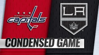 02/18/19 Condensed Game: Capitals @ Kings by NHL