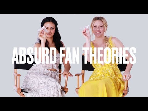 Lili Reinhart and Camila Mendes Read Absurd Riverdale Fan Theories | ELLE