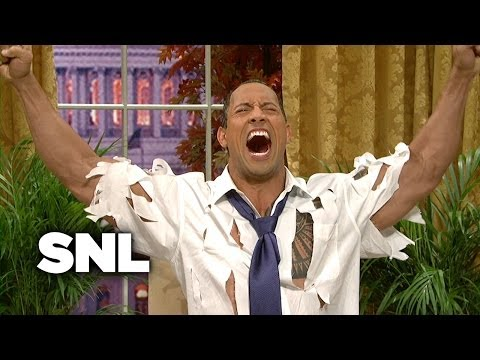 The Rock Obama: Health Care Gridlock - Saturday Night Live