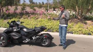 2. 2009 Can-Am Spyder Walk Around