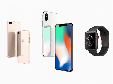 iPhone 8 , iPhone X e Apple Watch Serie 3 - Apple Keynote 12 Settembre