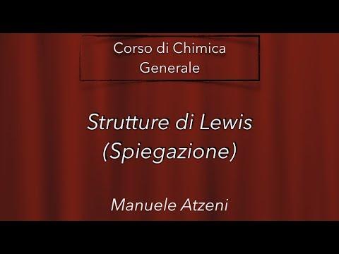 """""""Strutture di Lewis"""" L24 - Chimica Generale"""
