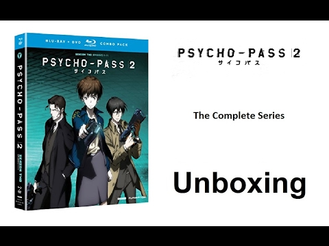 Unboxing: Psycho-Pass - Season 2 (Blu-ray / DVD Combo Pack) [HD]