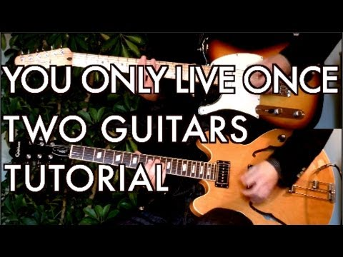 You Only Live Once - The Strokes ( Guitar Tab Tutorial & Cover )