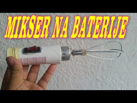 , title : 'Kako napraviti mini mikser na baterije'