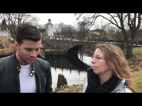 STT intervjuar Robin Bengtsson i Svenljunga