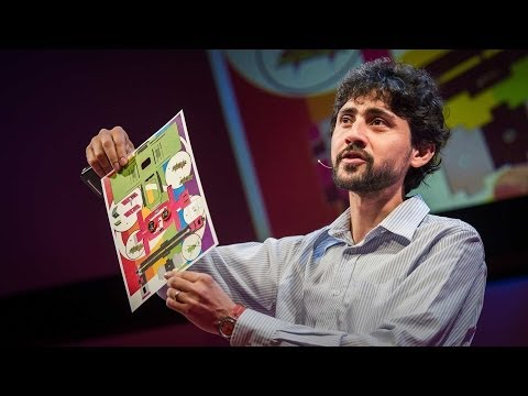 Like - Perhaps you've punched out a paper doll or folded an origami swan? TED Fellow Manu Prakash and his team have created a microscope made of paper that's just a...
