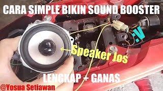Video KEREN!! Suara Knalpot Motor Gp Dari Speaker [How to make sound booster] #28 MP3, 3GP, MP4, WEBM, AVI, FLV November 2018