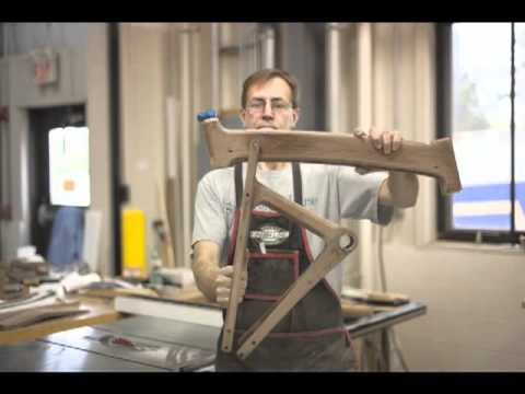 Kinsinger - Jay Kinsinger builds a wooden bike ... from beginning to end.