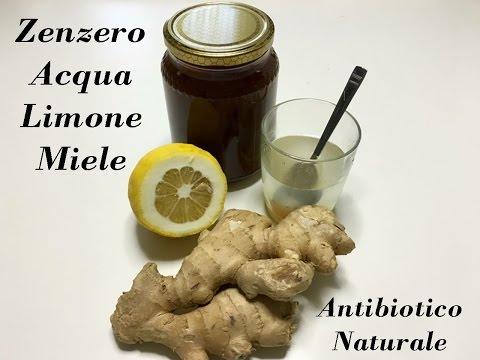acqua limone zenzero e miele, infuso per dimagrire e disintossicarsi