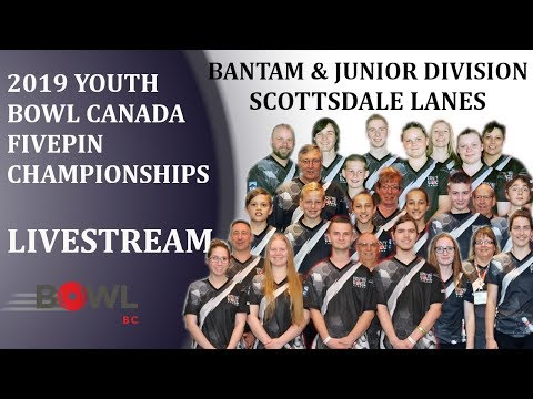 2019 YBC Fivepin Championships (Day 2) - Bantams & Juniors