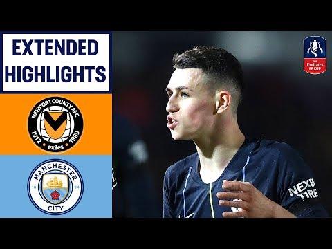 Foden Double, Sane and Mahrez Sink Newport | Newport 1-4 Manchester City | Emirates FA Cup 2018/19 - Thời lượng: 10 phút.