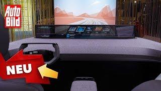 Audi @ CES (2020): Infotainment - Displays - Infos by Auto Bild