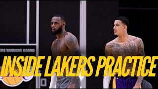 Inside Lakers Practice: LeBron James, Kyle Kuzma, Alex Caruso, Danny Green Prepare To Return by Lakers Nation