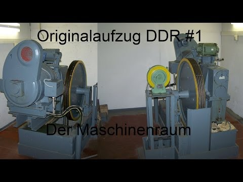 ddr1 - Bisher hat mir der Maschinenraum vom Originalaufzug DDR1 gefehlt. Dies konnte ich nun nachholen. Baujahr 1988 Musik: Cephalopod Kevin MacLeod (incompetech.co...