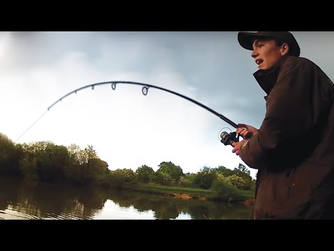 CARP FISHING the Park Lake Campaign - Carl and Alex Fishing - 2014