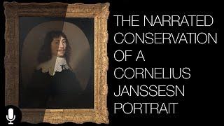 Video The Conservation of a Cornelius Janssens Portrait - Narrated MP3, 3GP, MP4, WEBM, AVI, FLV Juni 2019