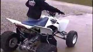 10. LTR 450 EXHAUST AND DONUTS
