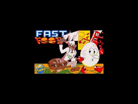 fast food amiga game