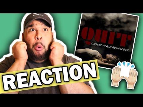 Cashmere Cat - Quit (feat. Ariana Grande) REACTION