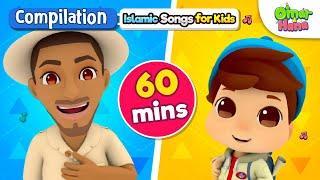 Video NEW Omar & Hana 60 Minute Compilation | Islamic Cartoon for Kids | Nasheed for Children MP3, 3GP, MP4, WEBM, AVI, FLV Juli 2019