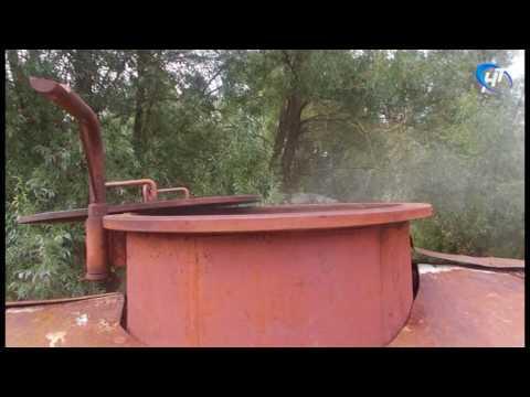 В контейнере с горячей водой одной из котельных Старой Руссы обнаружен труп мужчины