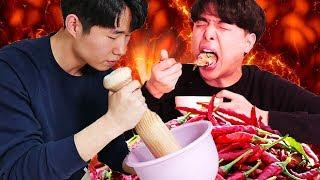 Video Mukbang ayam geprek terpedas ala orang Korea! MP3, 3GP, MP4, WEBM, AVI, FLV Juni 2018