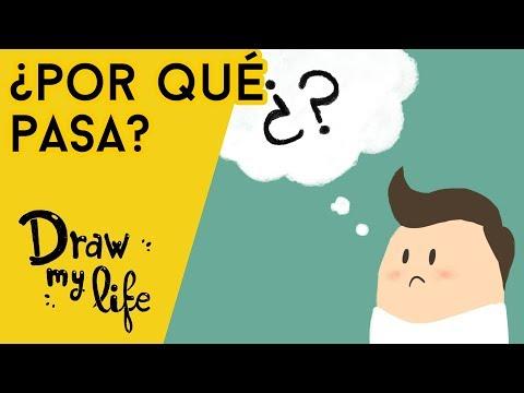 ¿POR QUÉ le SUCEDE esto al CUERPO?  - Draw My Life en Español