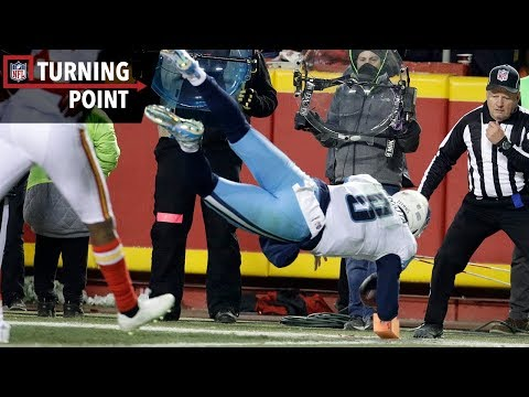 Video: Marcus Mariota's Crazy Self-Touchdown Pass Sparks 18-Point Comeback (Wild Card) | NFL Turning Point