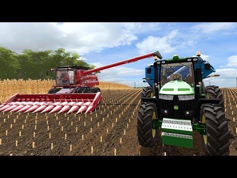 FARMING SIMULATOR 2017   IOWA MAP   NEW KINZE GRAIN CART + STARTING CORN HARVEST   EP #2