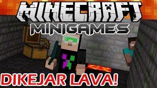 Video Minecraft Minigames Indonesia - Dikejar Lava Seram! MP3, 3GP, MP4, WEBM, AVI, FLV Juli 2018