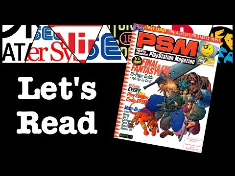Let's Read! PSM Playstation Magazine #1 September 1997