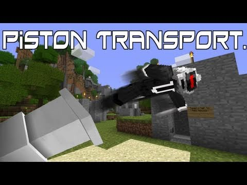 Minecraft - Piston Transport Video