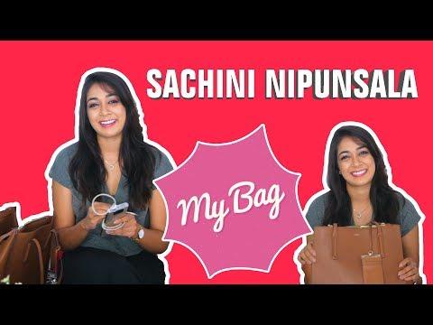 ලස්සනට නටන්න පුළුවන් සචිනිගේ බෑග් එකේ තිබුණ දේවල් | My Bag With Sachini Nipunsala