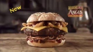 Memphis BBQ Angus Thickburger