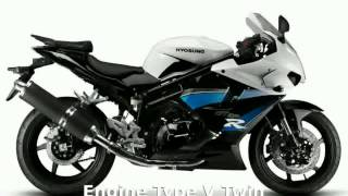 1. 2011 Hyosung GT 250 Specification and Details