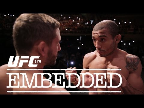 Episode) - On episode #4 of UFC 179 Embedded, featherweight sensation Conor McGregor enjoys the sights, sounds and people on a Brazilian beachfront. Champion Jose Aldo and challenger Chad Mendes ...