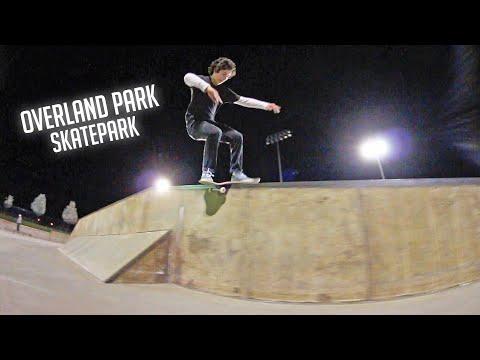 Overland Park Skatepark Session