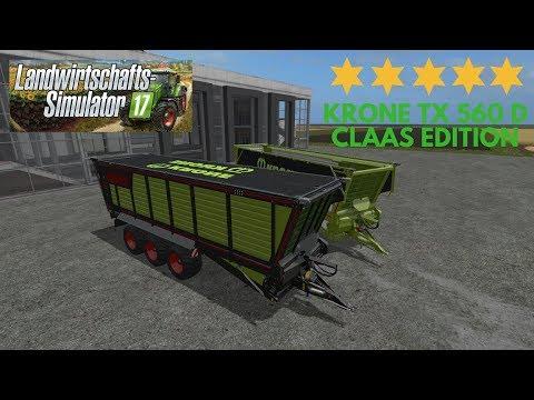 Krone TX 560 D Claas Edition v1.0