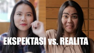 Video EKSPEKTASI vs. REALITA - with TREEPOTATOES MP3, 3GP, MP4, WEBM, AVI, FLV Februari 2018