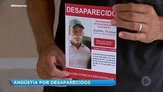 Angústia do desaparecimento de um parente desespera quatro famílias em Lins