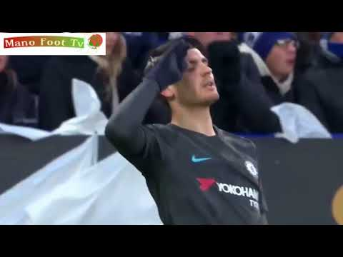 Leicester City vs Chelsea (1-2) FT  Goals FA Cup 18/3/2018