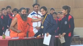 Patanjali University Students Awarded By Swami Ramdev | 23 March 2017