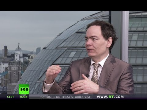 Banking - In this episode of the Keiser Report, Max Keiser and Stacy Herbert in the second part of a two part currency war special focus on George Osborne hoping a ris...